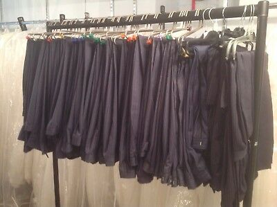 51 X  morning suit trousers.    Navy /.    Joblot