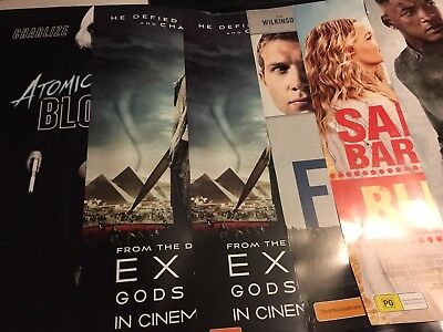 Lot Of 28 Original 1 Sheet Movie Posters. D/S. Fifty Shades. Hidden Figures.