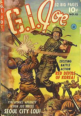 Us Golden Age War Comics G.i.joe/ Gi Combat/military On Dvd **buy 3 Get 1 Free**