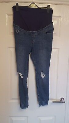 New Look Over bump maternity jeans size 12