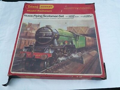 Hornby Flying Scotsman  Train Set Boxed