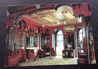 Postcard: The Library: Sir John Soanes Museum: No13: Colour: Un Posted: Postcard