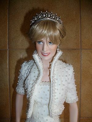 Franklin Mint Princess Diana Porcelain Doll