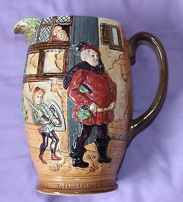 BESWICK - Quart Jug #1126 - Shakespeare's FALSTAFF - MERRY WIVES OF WINDSOR  VGC