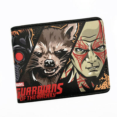 New Guardians Of The Galaxy Faux Leather Bi-folding Wallet