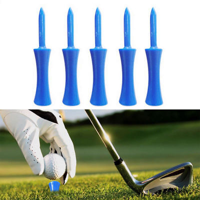 Hot 20Pcs Portable Golf Club Step Down Golf Tees Castle Tee Height Control 68mm