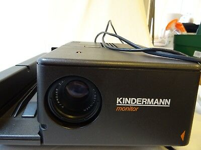 Vintage Kindermann Monitor slide projector