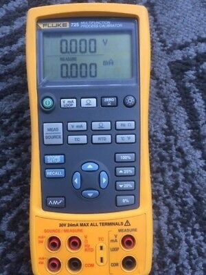 FLUKE 725 Multifunction Process Calibrator pre owned (re listed due to a fraud)