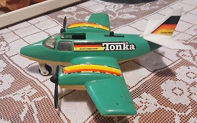 vintage tonka airplane. Wheels lower with lever!