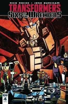 Transformers: Sins of the Wreckers #4 1:10 Variant by Josh Burcham