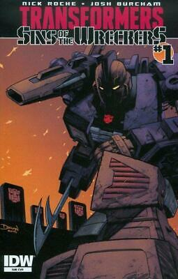 Transformers: Sins of the Wreckers #1 SUB Variant