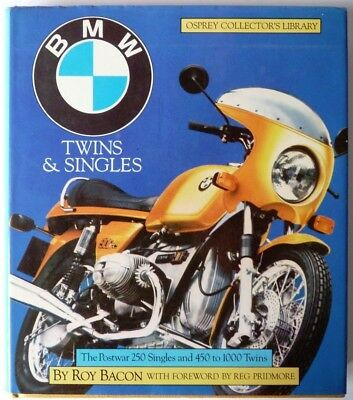 BMW Twins and Singles Osprey Collectors Library Roy Bacon 1982