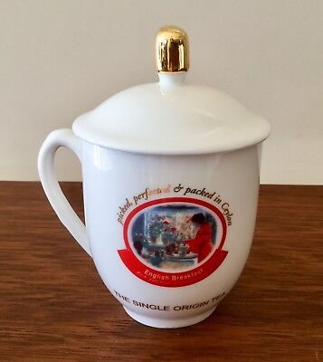Dilmah Traditional Tea Collector's Mug With Lid English Breakfast New in Box