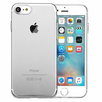 iPhone 6S Hülle / 6 Hülle Silikon Transparent Handyhülle Case Bumper Cover TPU