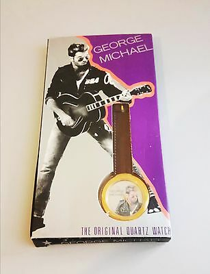 George Michael Faith Quartz watch. OFFICIAL and VERY RARE GM merchandise. Wham