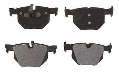 New Set of Rear Performance Ceramic Brake Pads with Rubberized Shims