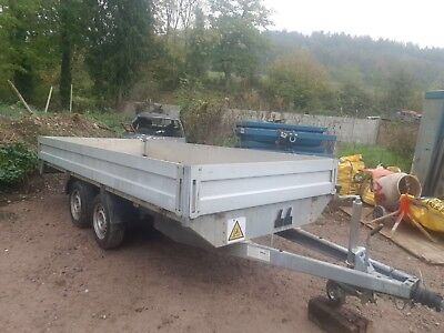 Twin Axle Flat Bed Trailer