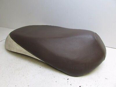 Sym Mio 50 Seat Saddle Brown and Cream