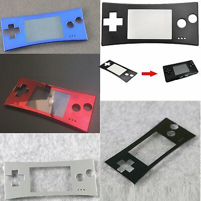 Faceplate Front Case Cover Screen Protector Part For Nintendo Gameboy Micro GBM