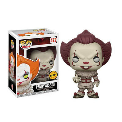 Funko Pop! Movies It Pennywise With Boat Rare Limited Chase Edition Vinyl Figure