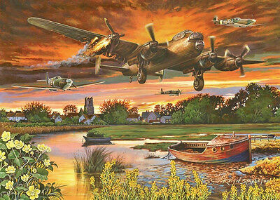 The House Of Puzzles - 1000 PIECE JIGSAW PUZZLE - On A Wing & A Prayer Lancaster