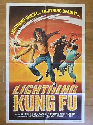 LIGHTNING SWORDS OF DEATH rare US 1 sheet movie poster Lone Wolf & Cub Japanese