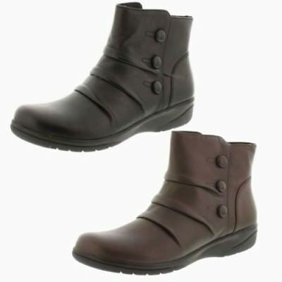 Ladies Clarks Leather Ankle Boots The Style -Cheyn Anne