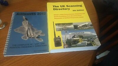 UK scanning directory 9th edition + airwaves 2012 aviation frequency directory.