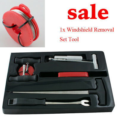 1X Automobile Windshield Car Auto Window Glass Removal Set Tool Kit Easy To Use