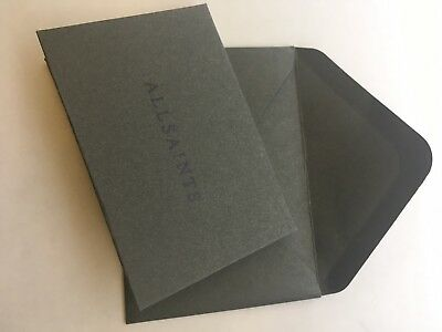 Allsaints £138 Voucher Giftcard Gift All Online In store In Card Womens Mens new