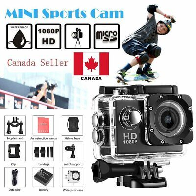 12M Full HD 1080P 2.0inch Sports Digital DV Waterproof Action Camera Camcorder