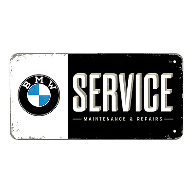 Metal Sign - BMW GARAGE - Hanging Sign - Embossed - Protected Product