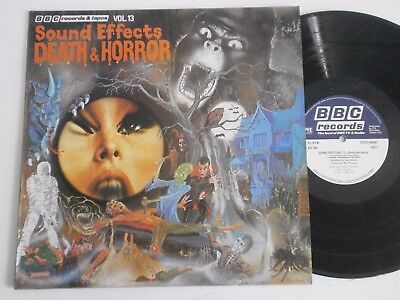 Sound Effects - Death & Horror. BBC Records Vinyl LP Near Mint
