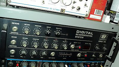 Vintage Dynacord DRS78 BBD Delay Reverb studio processor from the late seventies