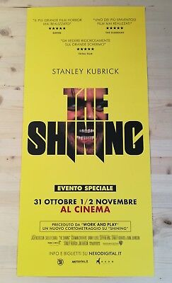 THE SHINING Special Event (2017) Original Movie Poster Affiche 33x70 / 12x27