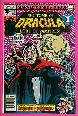 The Tomb of Dracula # 55 8.0 VF very fine Marvel comics