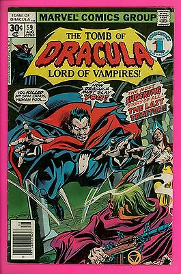 The Tomb of Dracula # 59 5.0 VG/FN very good Marvel comics
