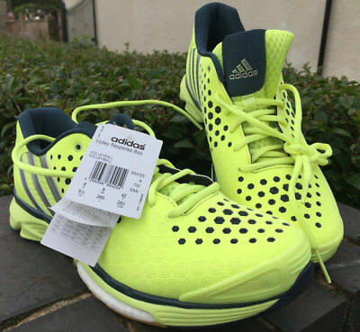 Adidas Volley Response Boost W Yellow Volleyball Trainers Size 8 Rrp £76 New