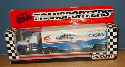 Matchbox Convoy CY104 Kenworth Aerodyne Crown Rob Moroso