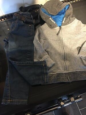 Boys Jeans And Hoody 2-3 Years