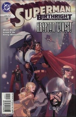 Superman: Birthright #9 (2004) 1St Printing Bagged & Boarded Dc Comics