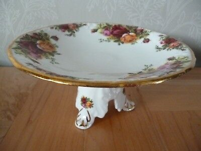 Royal Albert Old Country Roses Small Footed Cake Stand ~ 1st Quality