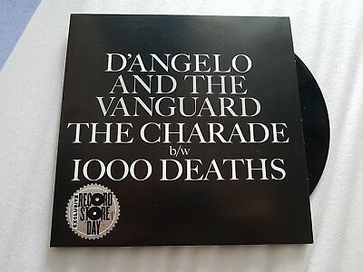 """D'Angelo - The Charade - Record Store Day Exclusive RSD 7 inch / 7"""" vinyl Single"""