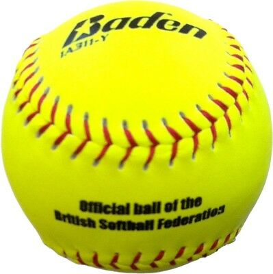 Baden Match Softball BSF Approved Hi-Visibility Ball For Female Hitters