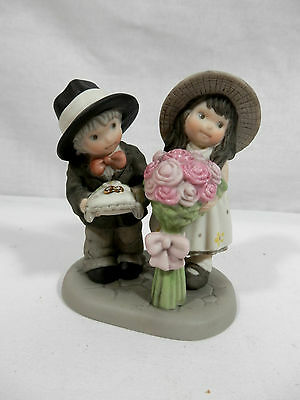 Enesco Kim Andersons Pretty as a Picture Figurine, Bearing the Blossoms of Love