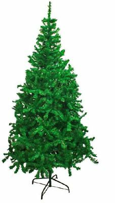 New Traditional Green Indoor Artificial Christmas Xmas Tree in Size 4,5,6,7,8 FT
