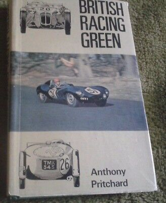 British Racing Green by Anthony Pritchard 1969 book