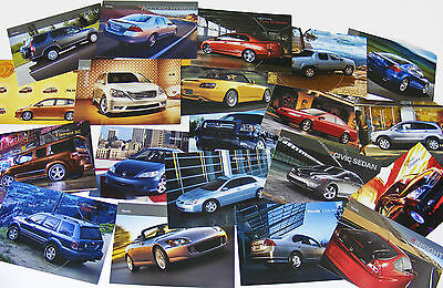 Huge Collection Nice Variety 50 Unused Honda Advertising Collectible Post Cards