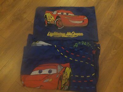 Disney Cars Lightening Mcqueen single duvet set