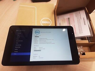 Dell Venue 8 Pro 5830 T01D (windows 8.1 with Office 2013) - BOXED